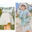 Pre-Order กระโปรงสั้นผ้าWool สีขาว ปักลายเถาวัลย์ thumbnail 15