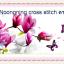 ลีลาวดีสีชมพู ชุดปักครอสติช พิมพ์ลาย งานฝีมือ thumbnail 1