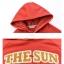 Pre-Order สเวตเตอร์ฮู้ดคู่รัก พิมพ์ลาย PLANET / THE SUN สีแดง thumbnail 20