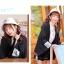 Pre-Order เสื้อคลุมแขนกว้างสไตล์ญี่ปุ่น พิมพ์ตัวอักษรและลายราเม็ง thumbnail 13