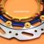 จานสร้างแท้ Yamaha Aerox Boushi สีไทเท หน้า270 mmพร้อมขาใส่ปั้มเดิม ราคา1700 thumbnail 2