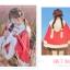 Pre-Order ผ้าคลุมฮู้ดหูกระต่ายขนสัตว์ กระดุมจีน มี2สี 2 ลาย thumbnail 13