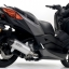 Arrow Slip on Aluminium-Black (heat guard) YAMAHA X-MAX 300 19500 thumbnail 3