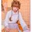 Pre-Order กระโปรงพลีตสั้นสีชมพู มีผ้าคาดเอวแต่งเชือกพู่ thumbnail 14