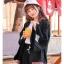 Pre-Order เสื้อคลุมแขนกว้างสไตล์ญี่ปุ่น พิมพ์ตัวอักษรและลายราเม็ง thumbnail 14