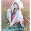 Pre-Order ผ้าคลุมฮู้ดหูกระต่ายขนสัตว์ กระดุมจีน มี2สี 2 ลาย thumbnail 11