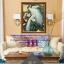 นกยูงคู่ ครอสติสคริสตัล Diamond painting ภาพติดเพชร DIY thumbnail 1