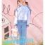 Pre-Order เสื้อฮู้ดแขนยาวเปิดไหล่มีสายรั้้ง thumbnail 10
