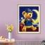 หมีน้อย ครอสติสคริสตัล Diamond painting ภาพติดเพชร งานฝีมือ DIY thumbnail 1