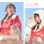 Pre-Order ผ้าคลุมฮู้ดหูกระต่ายขนสัตว์ กระดุมจีน มี2สี 2 ลาย thumbnail 12