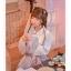 Pre-Order กระโปรงพลีตสั้นสีชมพู มีผ้าคาดเอวแต่งเชือกพู่ thumbnail 10