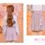 Pre-Order กระโปรงพลีตสั้นสีชมพู มีผ้าคาดเอวแต่งเชือกพู่ thumbnail 11