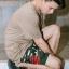 กางเกงขาสั้น พรีเมี่ยม ผ้า COTTON รหัส WT280 CLAW PANT สีทหารเขียว เล็บเสือดำ thumbnail 1