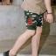 กางเกงขาสั้น พรีเมี่ยม ผ้า COTTON รหัส WT280 CLAW PANT สีทหารเขียว เล็บเสือดำ thumbnail 2