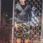 กางเกง Jogger ขาจั๊มสามส่วน พรีเมี่ยม ผ้า วอร์ม รหัส WT 379 BB สีทหาร แถบ ดำ thumbnail 1