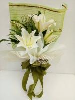 ช่อดอกไม้ ลิลลี่ขาวเล็ก รหัส 4722