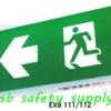 กล่องไฟทางหนีไฟ กล่องไฟทางออก EXB111, EXB112, EXB101, EXB102, Box LED Series (Exit Sign Lighting Max Bright C.E.E.)