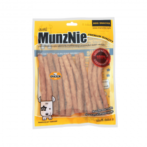 ขนมสุนัข MUNZNIE ครันชี่นิ่ม รสไก่ 180g