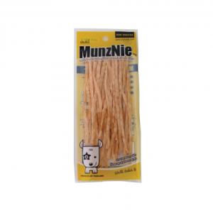ขนมสุนัข MUNZNIE mini ปลาเส้นรสปูอัด