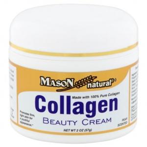Mason natural collagen beauty cream 2 oz.(57 g.) ครีมคอลลาเจนบริสุทธิ์ 100% เพิ่มความยืดหยุ่นให้กับผิว จากอเมริกาค่ะ