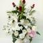 แจกันดอกไม้กุหลาบแดง-ลิลลี่ รหัส 3062