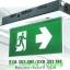 กล่องไฟทางหนีไฟ กล่องไฟทางออก สลิมไลน์ EXB303TRE,EXB303TCE Slimline LED Series (Exit Sign Lighting Max Bright C.E.E.) thumbnail 1