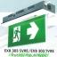กล่องไฟทางหนีไฟ กล่องไฟทางออก สลิมไลน์ EXB303SVRE,EXB303TVRE V-Line LED Series (Exit Sign Lighting Max Bright C.E.E.) thumbnail 2