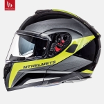 MT Atom Tarmac Gloss & Matt Black Flur Yellow