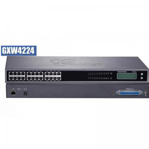 GXW 4224 FXS Gateway ขนาด 24-Port FXS, 1 Port Lan, T.38 Fax Over IP, 132x48 backlit graphic