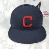 New Era MLB ทีม Clavland Indians 🎃Fitted ไซส์ 7 5/8 (60.6cm)