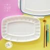 (พร้อมส่ง) จานสี Superior 23 ช่อง กันสีรั่วซึม ทรงหกเหลี่ยม คุณภาพอย่างดีพลาสติก ABS สีขาว