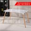 CASSA โต๊ะอเนกประสงค์สไตล์โมเดิร์น ทรงสี่เหลี่ยมผืนผ้า ขนาด 80x120 cm.
