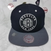 Mitchel & Ness NBAทีม Brooklyn Nets ฟรีไซส์ Snapback