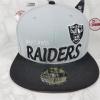 New Era NFL ทีม Oakland Raiders ไซส์ 7 1/2 59.6cm