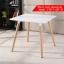 CASSA โต๊ะอเนกประสงค์สไตล์โมเดิร์น ทรงสี่เหลี่ยมจตุรัส ขนาด 60x74 cm. thumbnail 1
