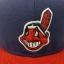 New Era MLB ทีม Claveland Indians ไซส์ 7 3/8 58.7cm thumbnail 2