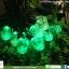 โคมไฟกระพริบ โซล่าเซลล์ รุ่น พรีเมียมใหญ่ หลากสี thumbnail 7