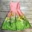 เดรสทรงเจ้าหญิง ผ้าสวยมันเงา thumbnail 1