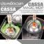 CASSA MAGIC MOP ชุดถังปั่นม็อบ ไม้ถูพื้น สแตนเลส304 พร้อมผ้าม็อบ2ชิ้น (แถมฟรี2ชิ้น) รุ่น C33-CASSA-SM thumbnail 4