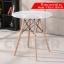 CASSA โต๊ะกลมอเนกประสงค์สีขาวสไตล์โมเดิร์น แบบกลม ขนาด 80x72 cm. thumbnail 1