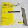 ใบมีดคัตเตอร์ ORCA L-150 18มม.45องศา กล่องละ60ใบ