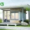 MS03 ชื่อสินค้า : บ้านสำเร็จรูป MS03 ราคา : ฿267,500.00 / หลัง