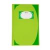 สมุดมุมมัน ช้าง HC-5/100 สีเขียว 100แผ่น70g 215x330มม. แพ็คละ6เล่ม