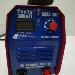 ตู้เชื่อม เท็กซัส บลูส์ (TEXAS BULL) รุ้น MMA 300A แถมฟรี สายเชื่อม หน้ากาก ด้ามเคาะแปลงลวด