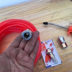 ชุดสายลม 10เมตร+อุปกรณ์