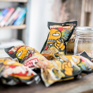 หนังปลา ยากูซ่า 12 ซอง Snack สุขภาพสร้างหุ่นดีได้ดั่งใจ มีโปรตีนสูง คละรส