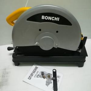 ไฟเบอร์.BONCHI เหลือง มอเตอร์ ทองแดงแท้ 100% แถมฟรีใบตัดเหล็ก14นิ้ว 1แผ่น