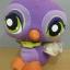 นกยูง สีม่วง ขนาด 9 นิ้ว (Hasbro) มือสอง thumbnail 1