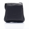 LDB-299BLK กระเป๋าสพายสายยาว ฝาปิดเต็ม สายปรับระดับได้ สีดำ