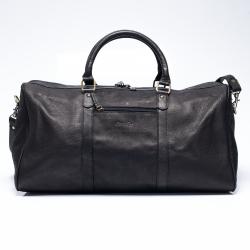 กระเป๋าเดินทาง หนังแท้ พร้อมสายสพาย Keep All Leather Duffle Bag